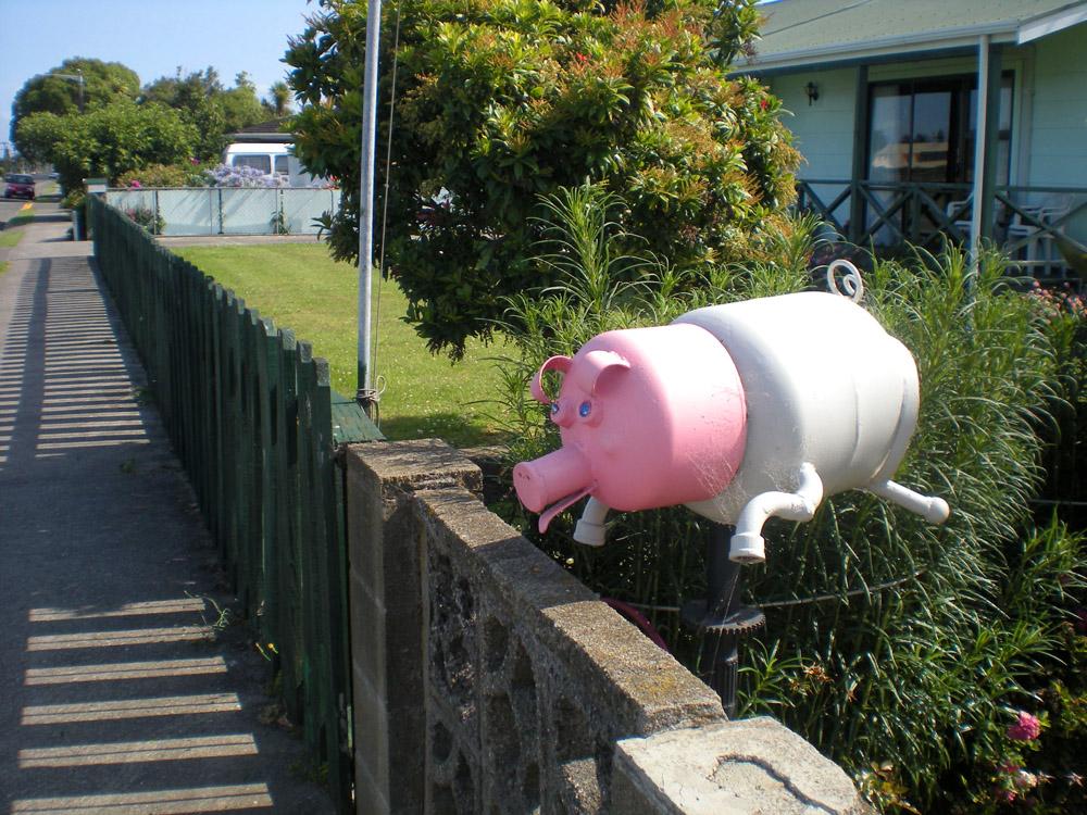 прикольный почтовый ящик в Новой Зеландии