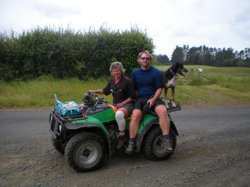 фермер в Новой Зеландии