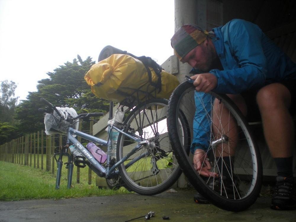 велосипед сломался