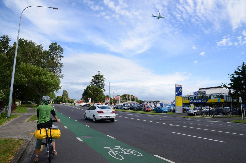 новая зеландия на велосипеде