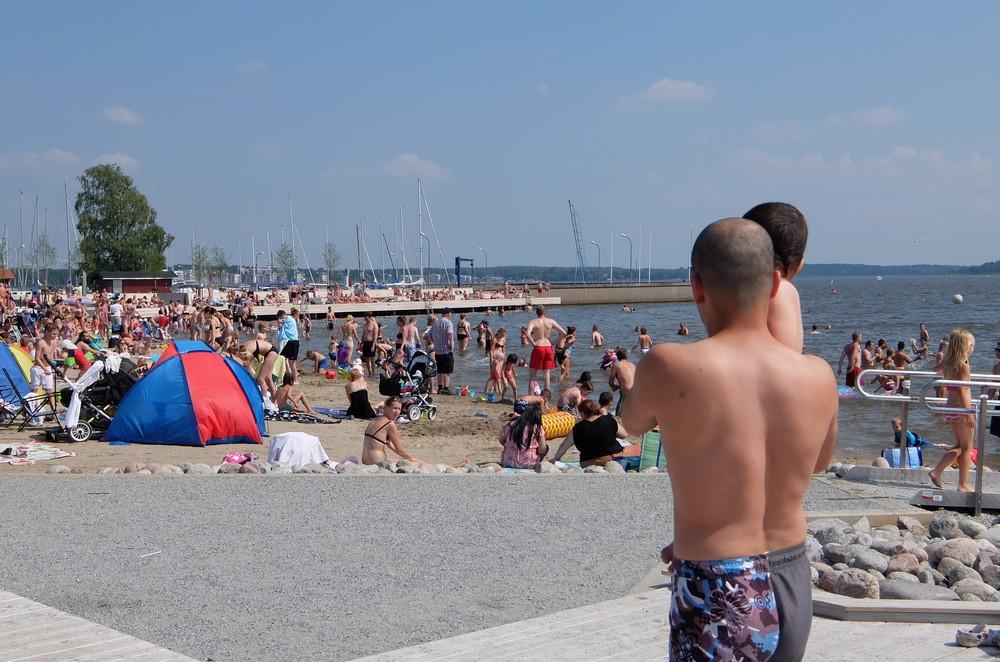пляж в Вестеросе, Швеция