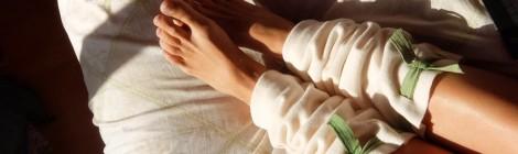 Как сделать теплые гетры