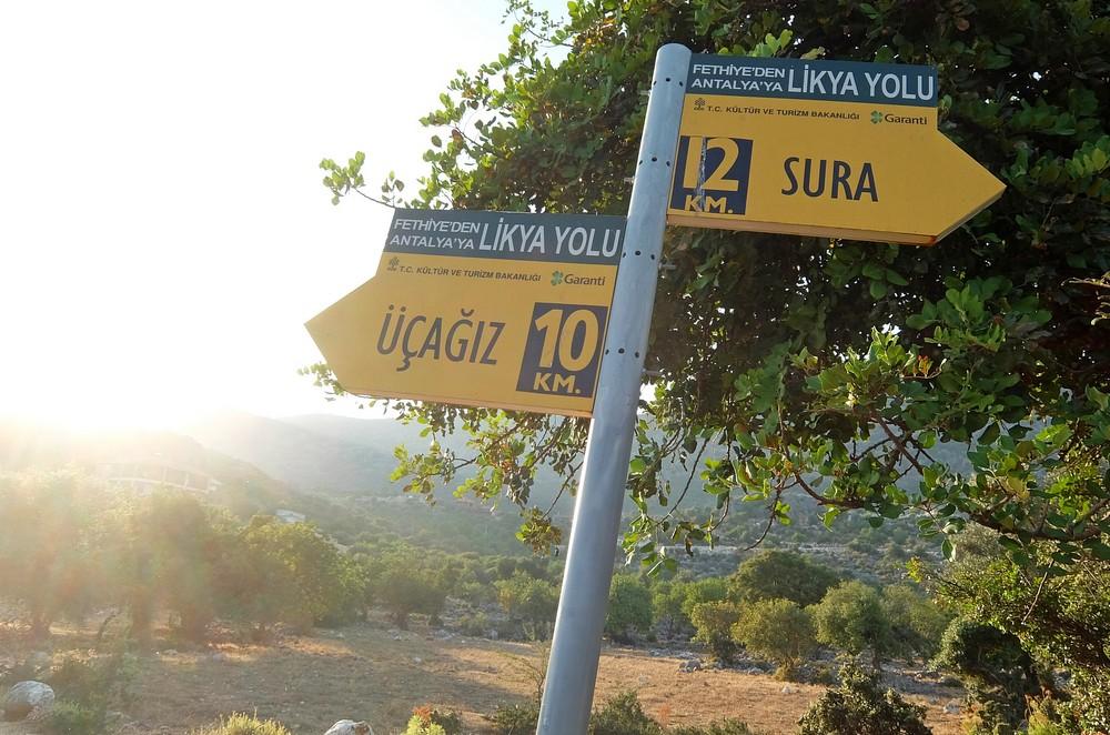 Ликийская тропа, Турция
